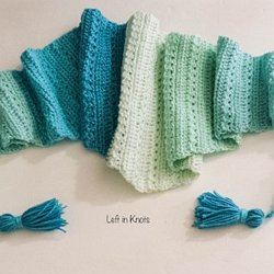 7caba4ed932d5 Snow Drops Mod Scarf - A Free Crochet Pattern