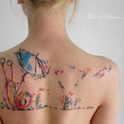 25 Tatouages aquarelle magnifiques, de vraies œuvres\u2026