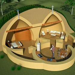 Sandbag House Plans Home Design 2017
